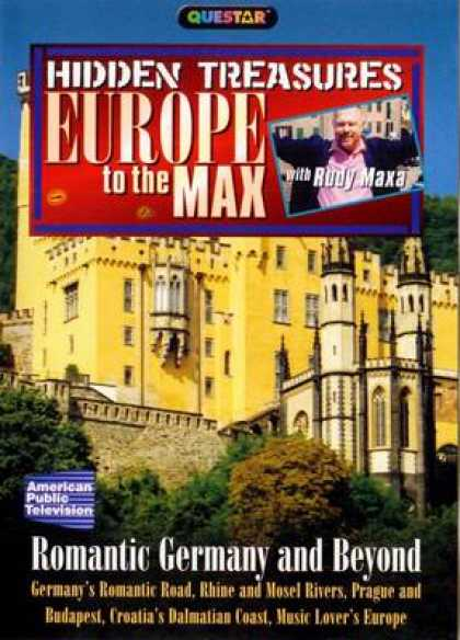 German DVDs - Europe To The Max - Romantic Germany