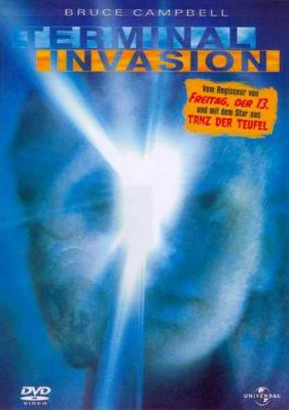 German DVDs - Terminal Invasion