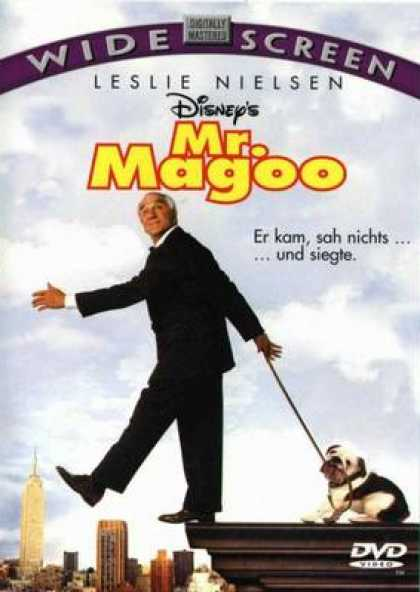 German DVDs - Mr. Magoo