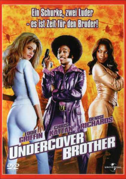 German DVDs - Undercover Brother