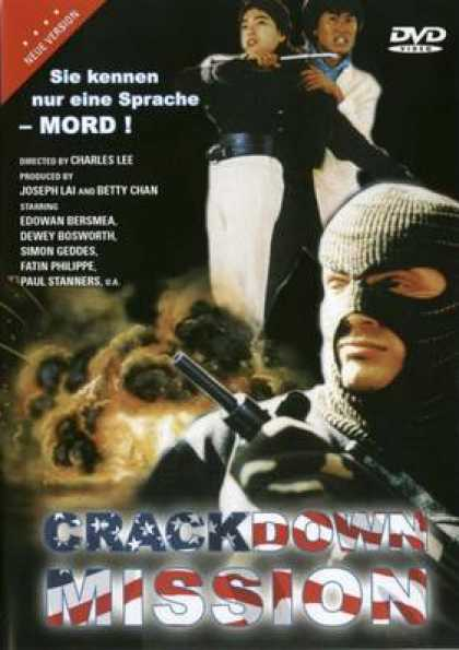 German DVDs - Crackdown Mission