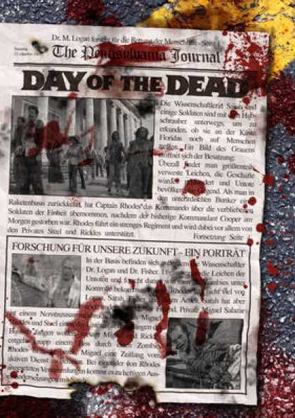 German DVDs - Day Of The Dead