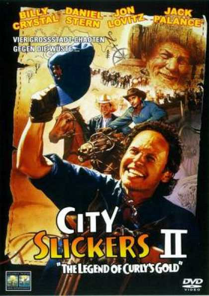German DVDs - City Slickers 2