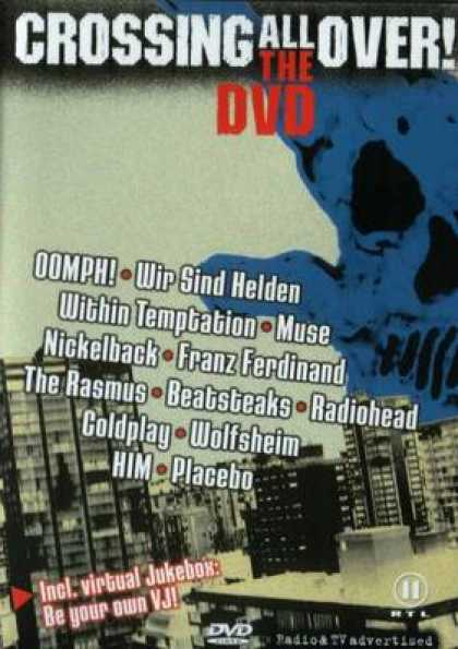 German DVDs - Crossing All Over The Dvd