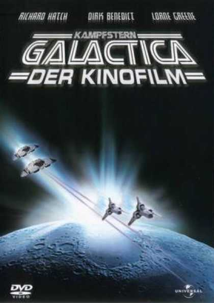 German DVDs - Battlestar Galactica The Movie