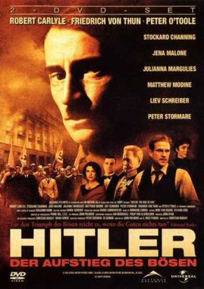 German DVDs - Hitler The Rise Of Evil