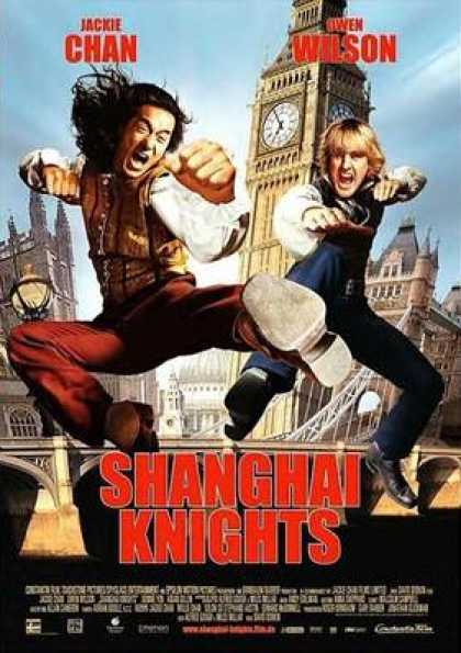 German DVDs - Shanghai Knights