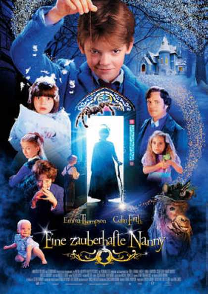 German DVDs - Nanny McPhee 2005