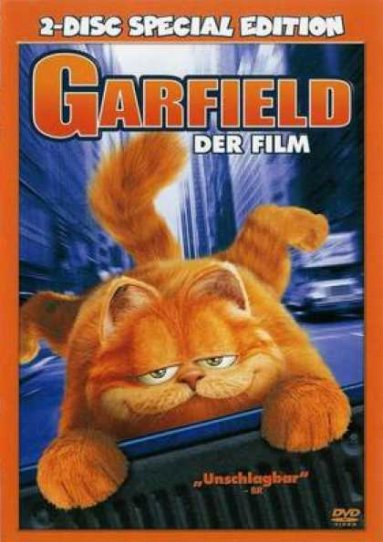 German DVDs - Garfield 2 Disc Special