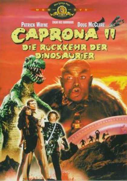 German DVDs - Caprona 2