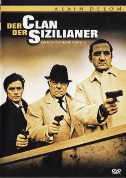 German DVDs - Der Clan Der Sizilianer