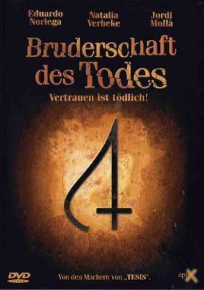 German DVDs - Bruderschaft Des Todes