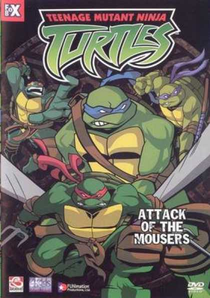German DVDs - Teenage Mutant Hero Turtles