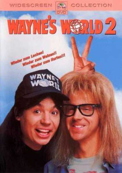 German DVDs - Wayne's World 2