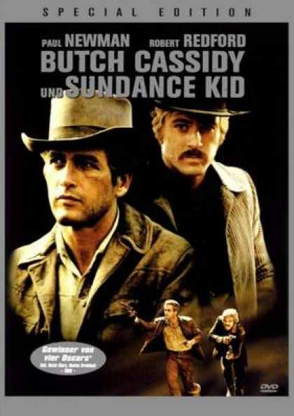 German DVDs - Butch Cassidy And The Sundance Kid