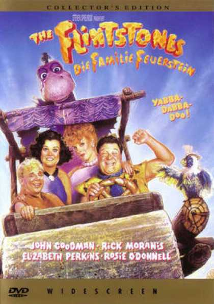 German DVDs - The Flintstones
