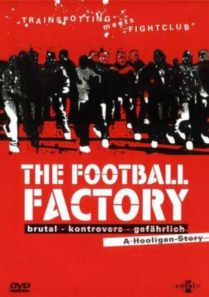 German DVDs - The Football Factory