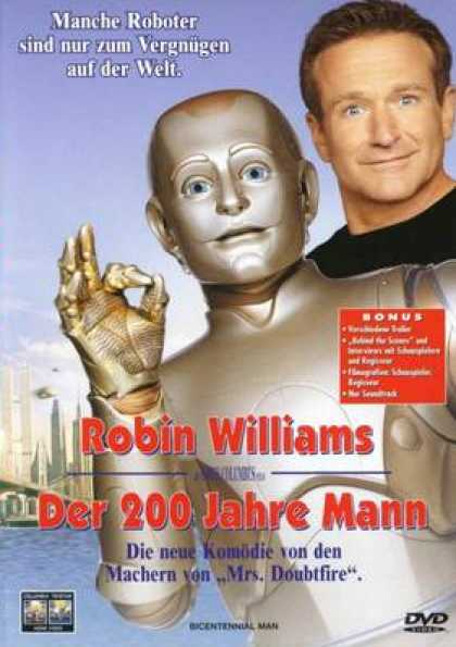 German DVDs - Bicentennial Man
