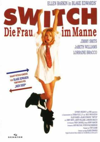 German DVDs - Switch - Die Frau Im Manne