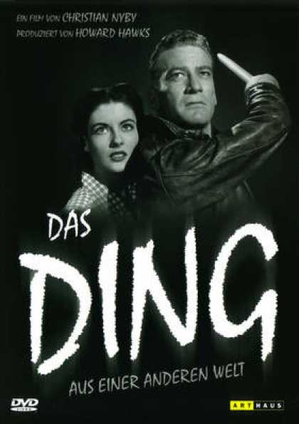 German DVDs - The Thing From Another World 1951