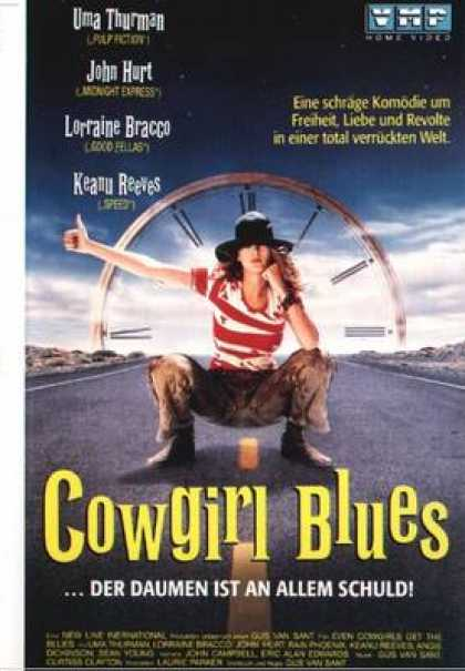 German DVDs - Cowgirl Blues