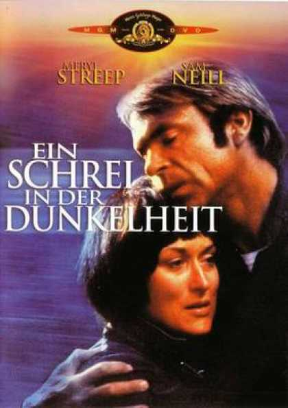 German DVDs - A Cry In The Dark