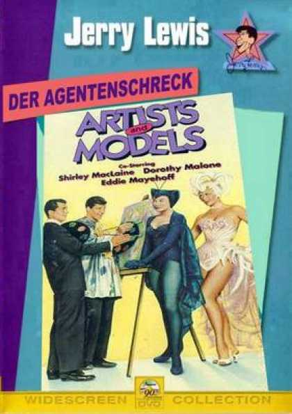 German DVDs - Artists And Models