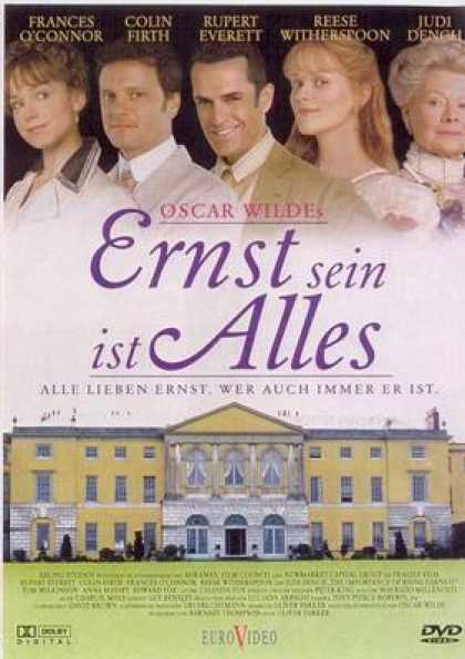 German DVDs - The Importance Of Being Earnest