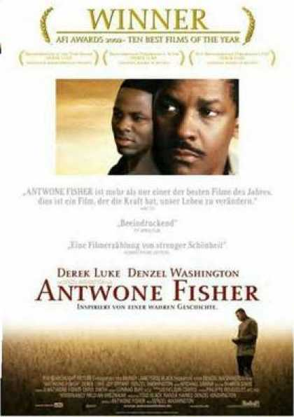 German DVDs - Antwone Fisher