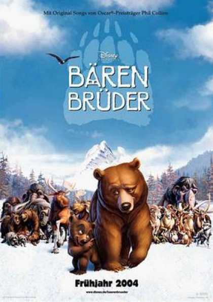 German DVDs - Brother Bear
