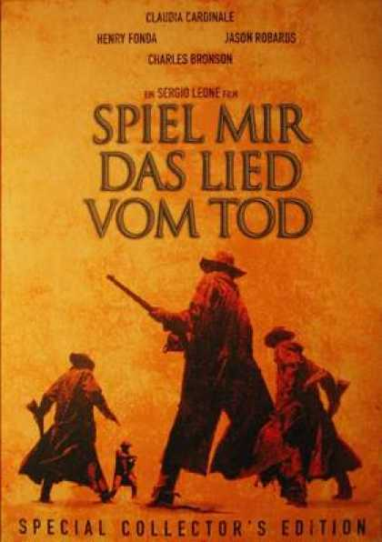 German DVDs - Once Upon A Time In The West
