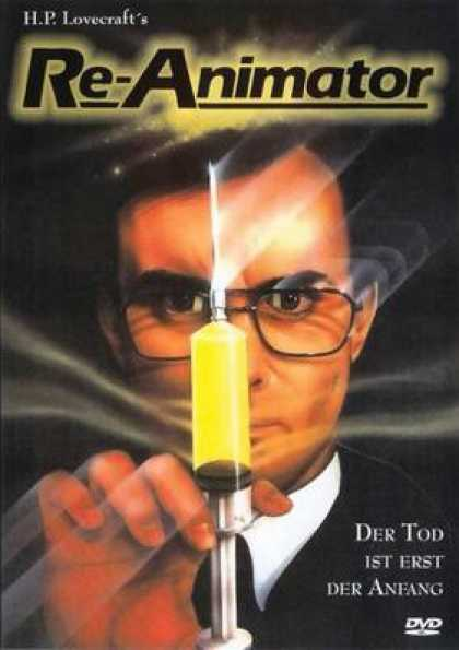 German DVDs - Re-Animator