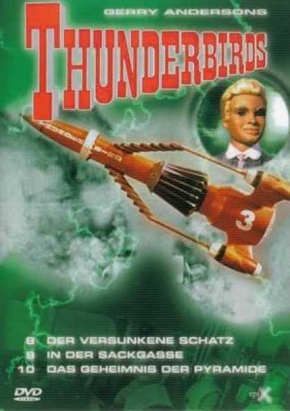 German DVDs - Thunderbirds Part 3
