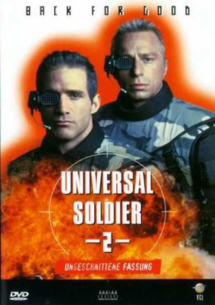 German DVDs - Universal Soldier 2