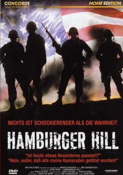 German DVDs - Hamburger Hill