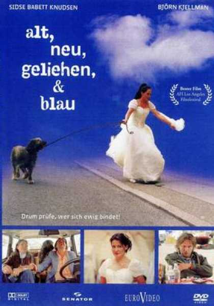 German DVDs - Something Old New Borrowed And Blue