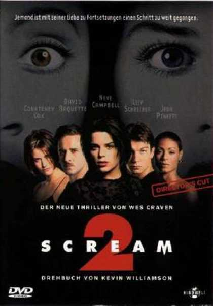 German DVDs - Scream 2