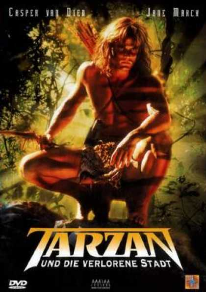 German DVDs - Tarzan The Legend Continues