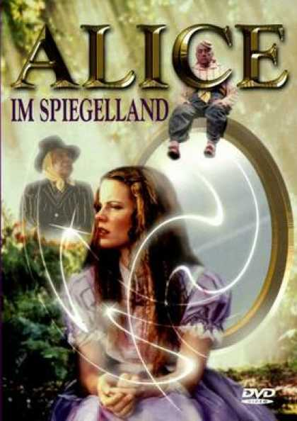 German DVDs - Alice Through The Looking Glass