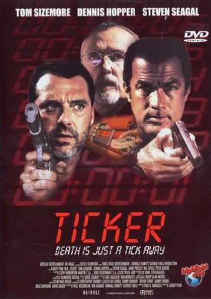 German DVDs - Ticker: Death Is Just A Tick Away