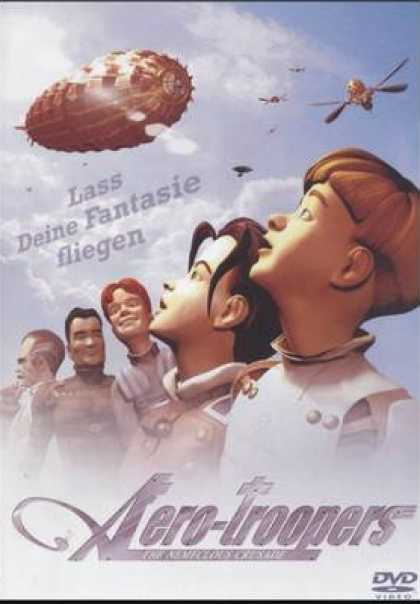 German DVDs - Aerotroopers