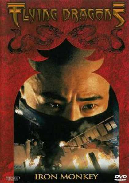 German DVDs - Flying Dragons Iron Monkey