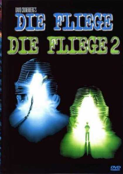 German DVDs - The Fly 1 And 2