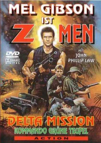 German DVDs - Delta Mission
