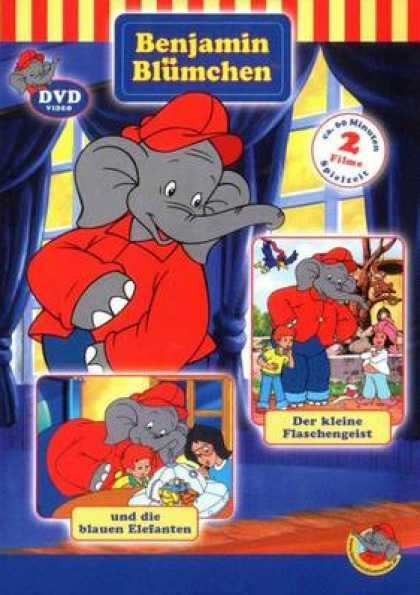 German DVDs - Benjamin The Elephant Volume 5
