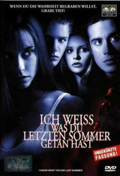 German DVDs - I Know What You Did Last Summer
