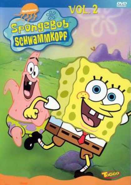 German DVDs - Spongebob Vol.2