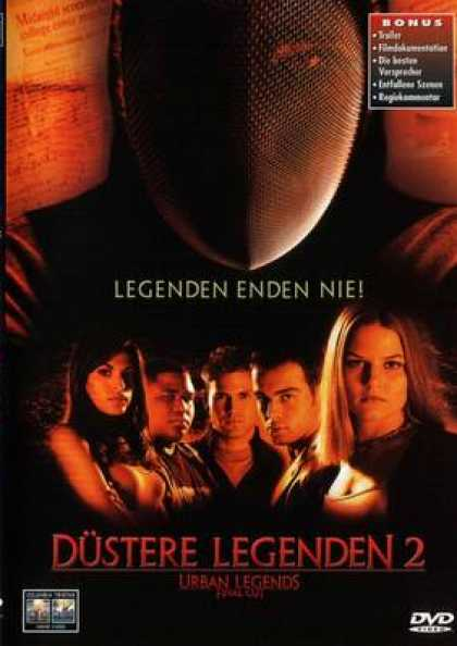 German DVDs - Urban Legends 2