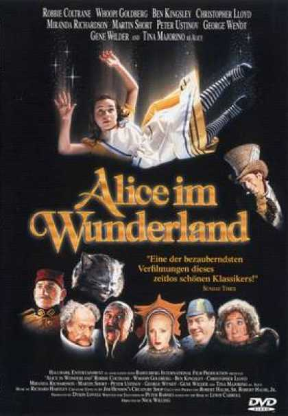 German DVDs - Alice In Wonderland Tv Version