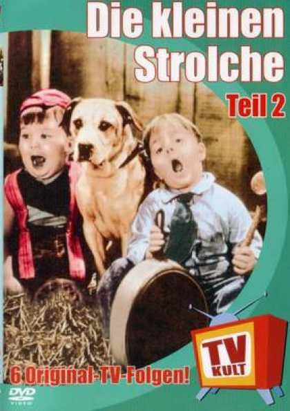 German DVDs - The Little Rascals Vol.2